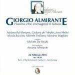 """Convegno """"Giorgio Almirante: L'uomo che immaginò il futuro"""""""