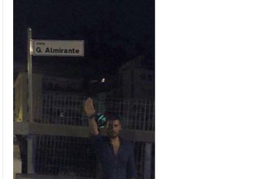 La psico-polizia attacca per la seconda volta la pagina di Giorgio Almirante